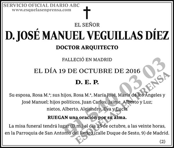 José Manuel Veguillas Díez